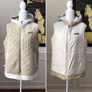 Patagonia Reversible Vest Hood Large